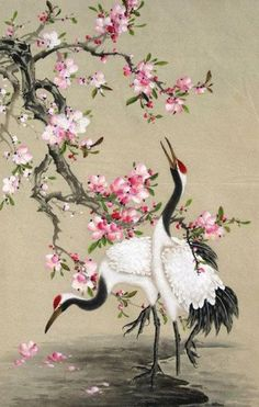 Find the desired and make your own gallery using pin. Japanese Crane clipart chinese brush painting - pin to your gallery. Explore what was found for the japanese crane clipart chinese brush painting Art Chinois, Art Asiatique, Watercolor Red, Art Japonais, China Art, Japanese Painting, Chinese Painting Flowers, Chinese Flowers, 5d Diamond Painting