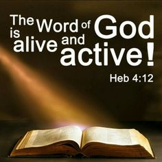"""#IDECREE 馃憜 it is so. <br>Father, thank You for Your Word. Thank You that it is ALIVE and ACTIVE in mine and my family's lives right now. IJN 馃槉<br>""""This is my Bible, I am what it says I am. I can do what it says I can do"""" <br>#SeasonOfMiracles 馃檹馃槆馃檶"""