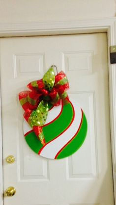 Christmas. Door hanger