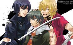 ~Shiki, Akira & Gunji~ Whose's Kitty?