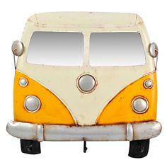 Auto Colgante Amarillo y Blanco 61 x 56 cm-Falabella.com
