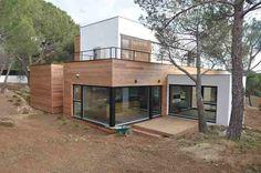 La casa de madera más grande de España ahorra el 90% en electricidad. #casademadera #arquitectura #eficienciaenergética