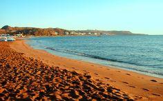 Faliraki beach in Greece