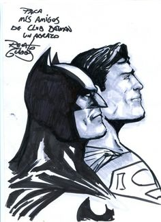 Superman, Batman. Renato Guedes