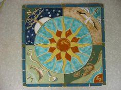 Compass Floor Tile