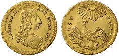 NumisBids: Nomisma Spa Auction 50, Lot 175 : PALERMO Carlo di Borbone (1734-1759) Emissioni per l'incoronazione -...
