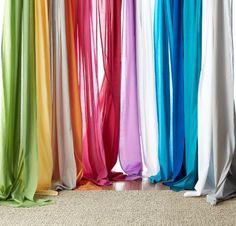 Chambray Voile Yarn-Dye Window Panels