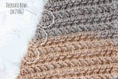 Toss on this modern crochet triangle scarf to head out to the desert, the mountains...or just the grocery store. This free Caron Cakes crochet pattern takes all the stress out of choosing colors because the skein does it for you! Color = Buttercream.