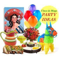 Cinco de Mayo Party Ideas by christinalauren, via Polyvore