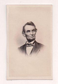 Vintage-CDV-Abraham-Lincoln-Civil-War-16th-President-United-States