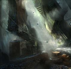 Rebuild: lost city by cloudminedesign on deviantART