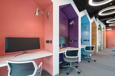Get your focus on - Private work stations make it easy to keep your focus on the task at hand and make your deadlines.