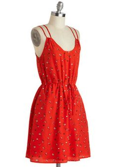 Plays Awheel with Others Dress, #ModCloth