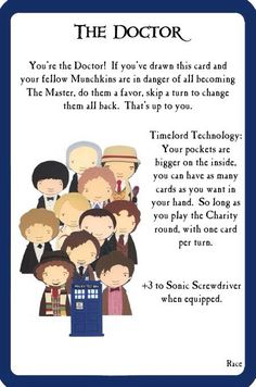 DW Munchkin | Doctor Who Amino