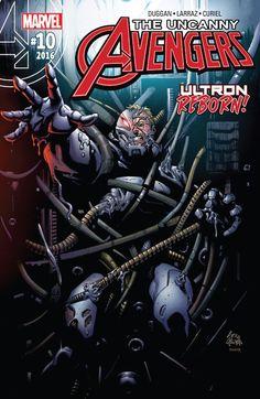 Uncanny Avengers (2015) #10 #Marvel @marvel @marvelofficial #UncannyAvengers (Cover Artist: Ryan Stegman) Release Date: 6/22/2016