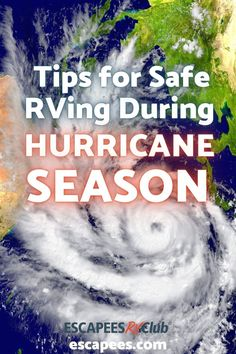 Southeast & East Coast RVers: Are you prepared for hurricane season? Check out these tips from long-time RVers and boaters about hurricane prep for RVers to make sure you're prepared! Stay safe out there and remember: your home is on wheels, USE THEM. These tips are great for hurricanes and bad weather in an RV. #rvlife #rving #fulltimerv Rv Clubs, After The Storm, Rv Hacks, Rv Travel, Rv Life, Thunderstorms, Natural Disasters