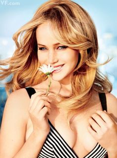 Jennifer Lawrence. Photographed by Ellen von Unwerth for VF's February 2013 cover.