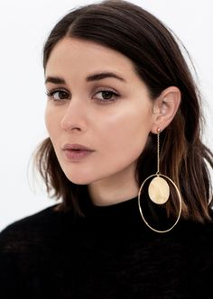Natascha Sweitzer earrings - How To Wear The Biggest Jewelry Trend Of Spring '17 - The Closet Heroes