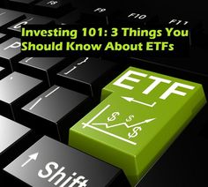 Investing in ETFs doesn't have to be scary. Here are 3 simple things you should know about investing in Exchange Traded Funds. investing basics, how to invest #personalfinance