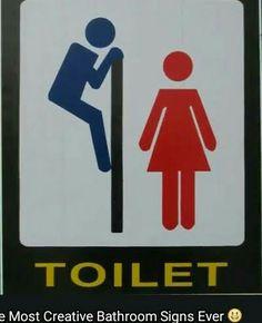 35 awesome unusual bathroom signs images bathroom signs rh pinterest com