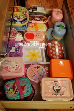 Bento box organization by Bentobloggy.com