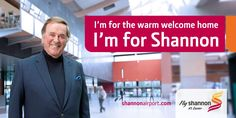 Terry Wogan - I'm for Shannon Terry Wogan, Welcome Home, Press Release, How To Get, Airports, Welcome Back Home