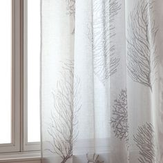 Image of the product Coral printed curtain