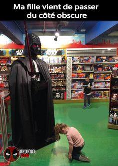 Ma fille vient de passer du côté obscur... - Be-troll - vidéos humour, actualité insolite