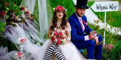 What could be more festive than an Alice In Weddingland party? Just add the Mad Hatter for a Cheshire Cat of a smiling time! With the Wave as your Event Managers, all themes are a go! From music, DJ's, lighting, to all your event planning needs, ride the Wave to your best party ever!  #AliceInWonderland #weddingideas