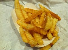 Essex, MD: The best crinkle cut fries in the world!