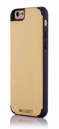 iPhone 6 / 6s Case | iCASEIT Handmade Premium Quality Genuinely Natural & Unique Wood Case Slim Profile | Strong & Stylish Snap on Back Bumper
