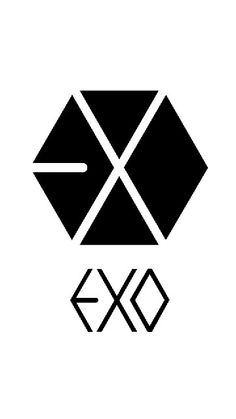 Exo Logo Exo Chanbaek, Kyungsoo, Exo Chanyeol, Exo Png, Got7 Logo, Exo Anime, Kpop Logos, Draw Logo, Exo Merch