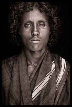 Ethiopia - East/West & Omo Beautiful Photography by John Kenny taken with Africa's remotest tribes. Fine art prints in black and white, also colour, are available to buy in signed, limited editions. Facing Africa: the book is out now World Photography, Photography Gallery, John Kenny, African Royalty, African Tribes, African Men, Le Far West, People Of The World, African Beauty