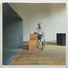 """Poise. This is this week's book already. Six months in the searching and now returned. Donald Judd Furniture Retrospective. 1993 Boymans Museum. Absolute…"""