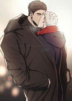 Manga Anime, Manhwa Manga, Anime Demon, Anime Couples Drawings, Anime Couples Manga, Manga Love, Anime Love, Rabbit Run, Fanart