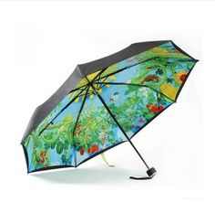 Japan and South Korea trend of Hayao Miyazaki Totoro UPF50 + UV protection umbrella super Ghibli anime black umbrella US $18.00