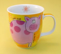 Piggy Mug Designed by Susan Wheelas