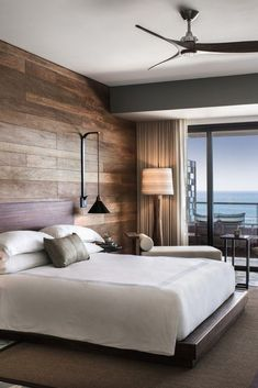 Best Modern Rustic Bedroom For Your Home. We searched the Modern Rustic Bedroom For Your Home color choices for you in the bedroom Trendy Bedroom, Modern Bedroom, Bedroom Rustic, Rustic Bedding, Modern Hotel Room, Bedroom Simple, Bedroom Girls, Minimalist Bedroom, Couple Room