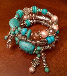 Memory Wire Bracelet Jewelry Bracelets Beaded