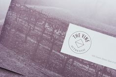 Logo and brochure for Italian and Californian wine specialist The Vine designed by Blok