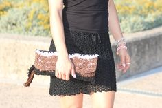 """""""Cactus"""" Clutch Bag Clutch Bag, Clutches, Cactus, Sequin Skirt, Sequins, Skirts, Bags, Fashion, Moda"""
