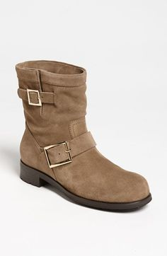 Jimmy Choo 'Youth' Short Biker Boot available at #Nordstrom950