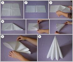 Napkin Folds - 15 Folding Tutorials for Special Occasions