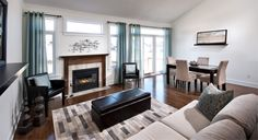 Living / Dining Room   eQ Homes