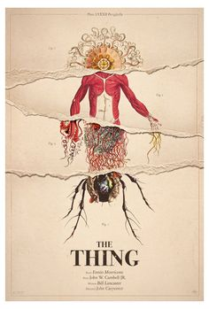 The Thing, 1982 by David Graham Horror Movie Posters, Movie Poster Art, Horror Films, The Thing Movie Poster, Horror Icons, Poster Poster, The Thing 1982, John Carpenter's The Thing, Kunst Poster
