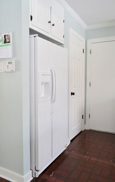 Using Appliance Paint To Upgrade A Refrigerator | Young House Love