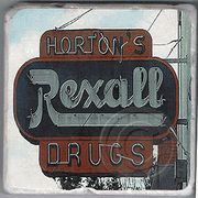 Horton's Drugs Athens Georgia Coaster