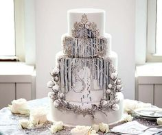 The cake...Colin Cowie Weddings