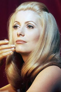 Style inspiration from the iconic Catherine Deneuve.
