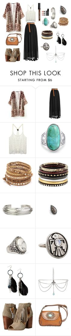 Boho Gyspy by yeabuddyso on Polyvore featuring Wet Seal, Chinese Laundry, Chan Luu, Yves Saint Laurent, The 2 Bandits, Satya Jewelry, MANGO, Samantha Wills, Bling Jewelry and Forever 21
